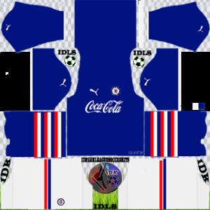 Coca Cola away kit 2019 dream league soccer