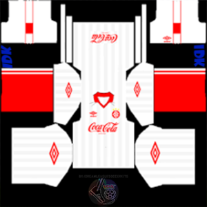 Coca Cola gk fourth kit 2020 dream league soccer