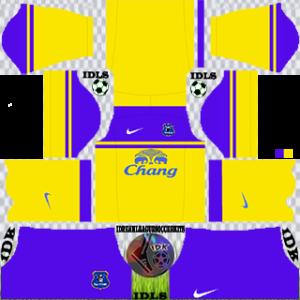 Everton away kit 2016-2017 dream league soccer