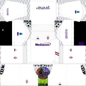 Fiorentina Fc away kit 2019-2020 dream league soccer