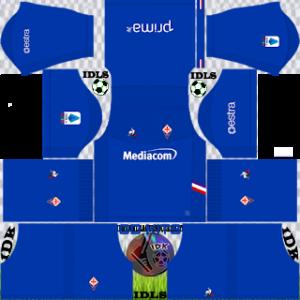 Fiorentina Fc gk home kit 2019-2020 dream league soccer