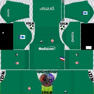 Fiorentina Fc gk away kit 2019-2020 dream league soccer