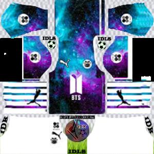 Galaxy home kit 2020 dream league soccer