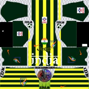India gk home kit 2019-2020 dream league soccer
