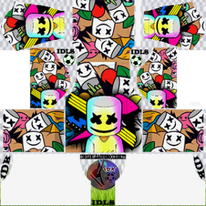 Marshmello fourth kit 2020 dream league soccer
