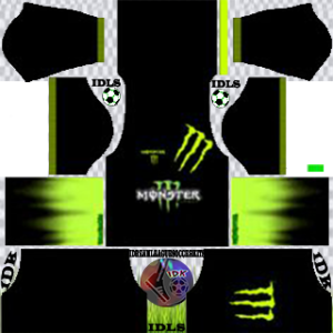 Monster away kit 2020 dream league soccer