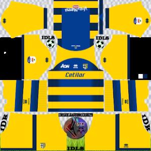 Parma FC Kits 2019/2020 Dream League Soccer