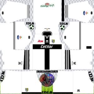 Parma Fc away kit 2019-2020 dream league soccer