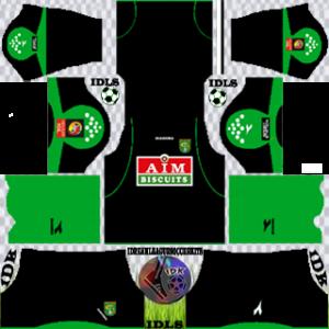 Persebaya Surabaya gk home kit 2019-2020 dream league soccer