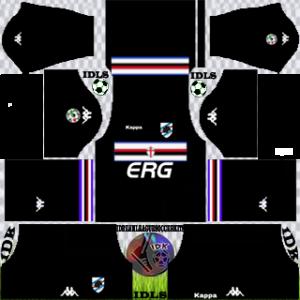Sampdoria Fc gk home kit 2018-2019 dream league soccer