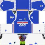 Sampdoria FC Kits 2018/2019 Dream League Soccer