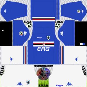 Sampdoria FC Kits 2018/2019 Dream League Soccer