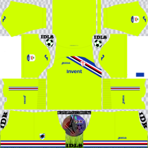 Sampdoria Fc gk away kit 2019-2020 dream league soccer
