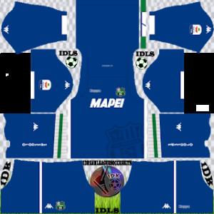 Sassuolo Fc gk away kit 2018-2019 dream league soccer