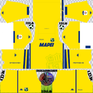 Sassuolo Fc third kit 2018-2019 dream league soccer
