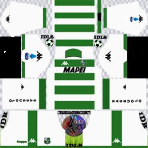 Sassuolo Fc away kit 2019-2020 dream league soccer