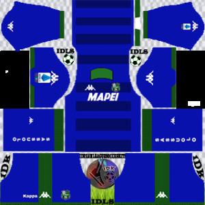 Sassuolo Fc gk away kit 2019-2020 dream league soccer