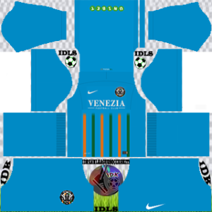 Venezia Fc gk home kit 2018-2019 dream league soccer