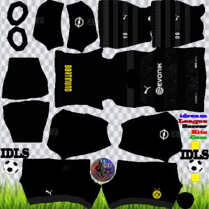 Borussia Dortmund away kit 2020 dream league soccer