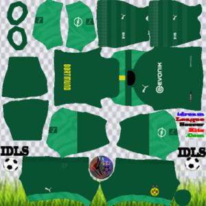 Borussia Dortmund gk home kit 2020 dream league soccer