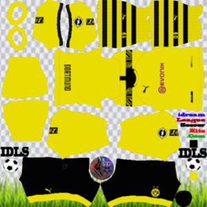Borussia Dortmund third kit 2020 dream league soccer