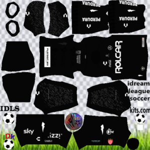 Club Necaxa gk away kit 2020 dream league soccer