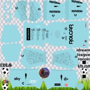 Club Necaxa gk home kit 2020 dream league soccer
