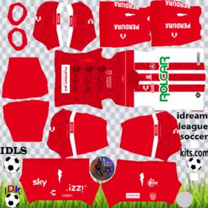 Club Necaxa third kit 2020 dream league soccer