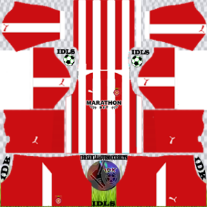 Girona FC Kits 2020 Dream League Soccer