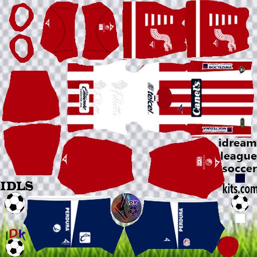 Atletico San Luis Kits 2020 Dream League Soccer