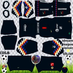 Club América third kit 2020 dream league soccer