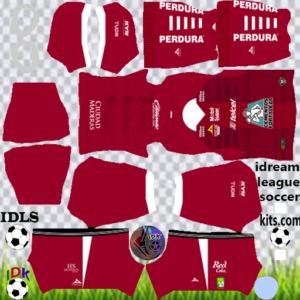 Club Leon gk away kit 2020 dream league soccer