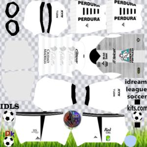 Club Leon gk home kit 2020 dream league soccer