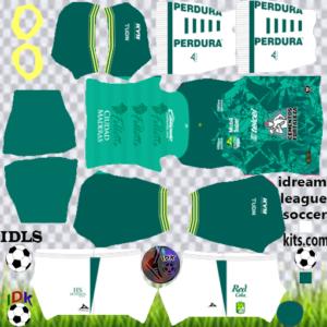 Club Leon gk third kit 2020 dream league soccer