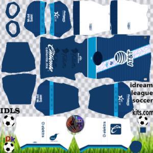 Club Puebla away kit 2020 dream league soccer