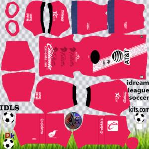Club Puebla gk away kit 2020 dream league soccer
