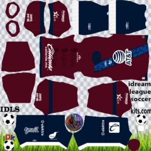 Club Puebla gk home kit 2020 dream league soccer