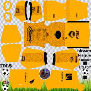 Club Puebla gk third kit 2020 dream league soccer