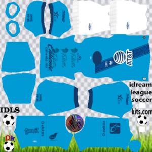 Club Puebla third kit 2020 dream league soccer