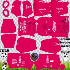 Club Tijuana gk away kit 2020 dream league soccer