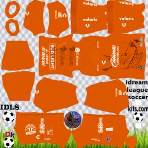 Club Tijuana gk home kit 2020 dream league soccer