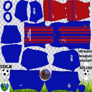Johor Darul Takzim home kit 2020 dls