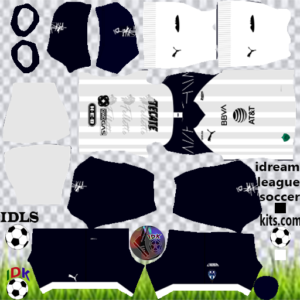 Monterrey FC away kit 2020 dream league soccer