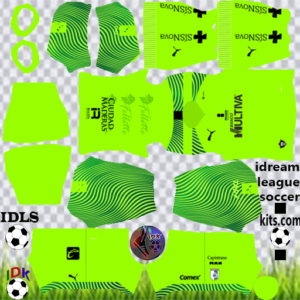 Querétaro FC gk away kit 2020 dream league soccer