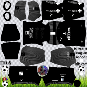 Querétaro FC gk third kit 2020 dream league soccer