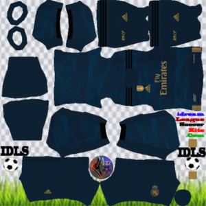 Real Madrid away kit 2020 dream league soccer