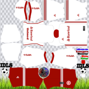 SC Internacional away kit 2020 dream league soccer