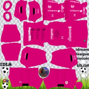 Toluca FC gk away kit 2020 dream league soccer