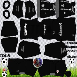 Toluca FC gk home kit 2020 dream league soccer