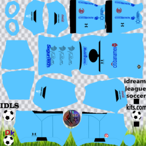 Toluca FC third kit 2020 dream league soccer
